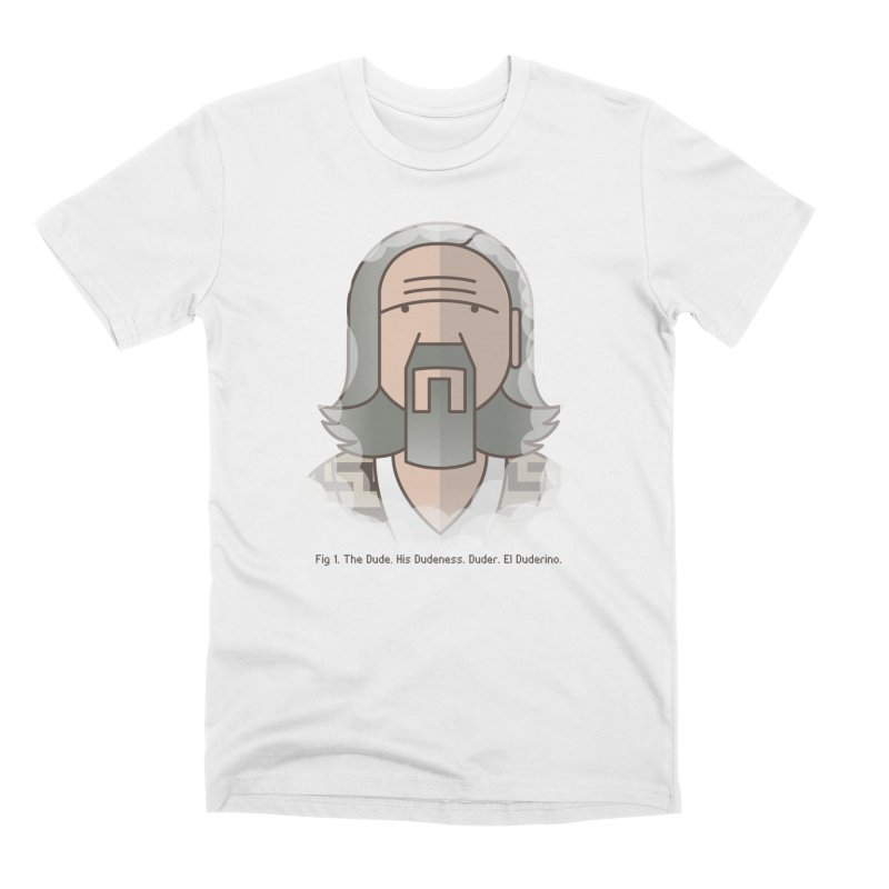 Sometimes There's A Man… Men's Premium T-Shirt by Quick Brown Fox