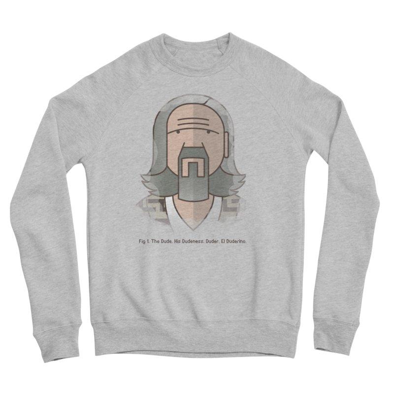 Sometimes There's A Man… Men's Sponge Fleece Sweatshirt by Quick Brown Fox