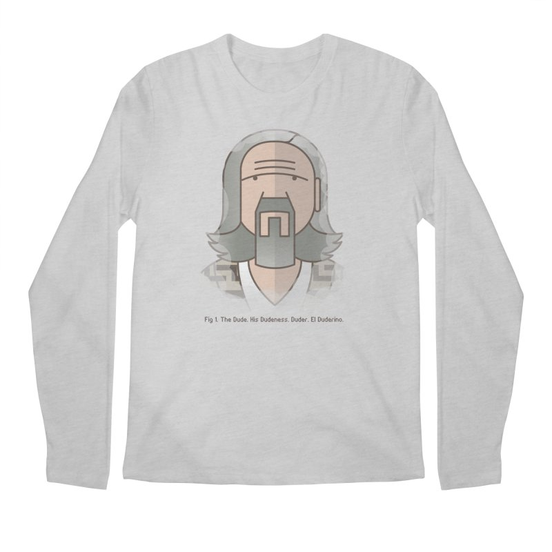 Sometimes There's A Man… Men's Longsleeve T-Shirt by Quick Brown Fox