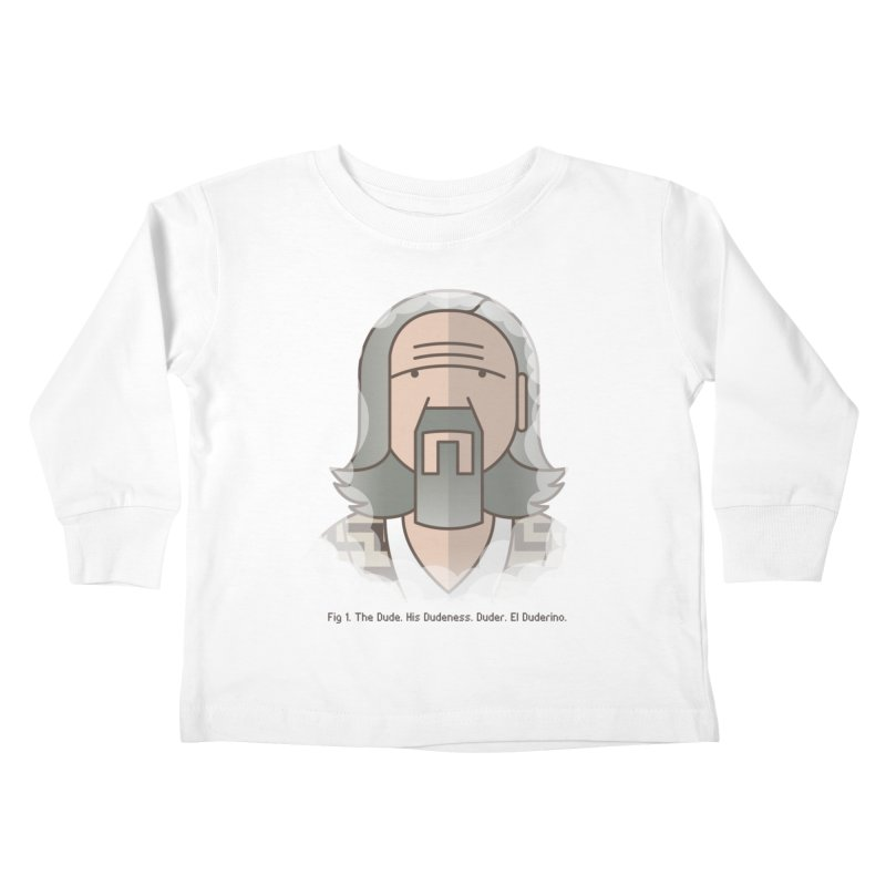 Sometimes There's A Man… Kids Toddler Longsleeve T-Shirt by Quick Brown Fox