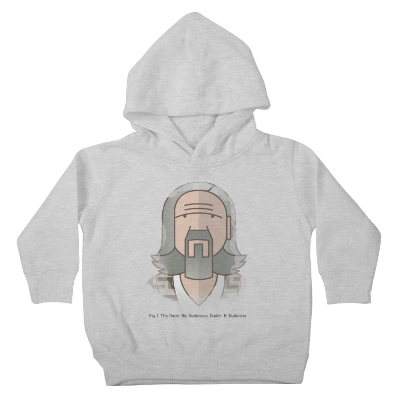 Sometimes There's A Man… Kids Toddler Pullover Hoody by Quick Brown Fox