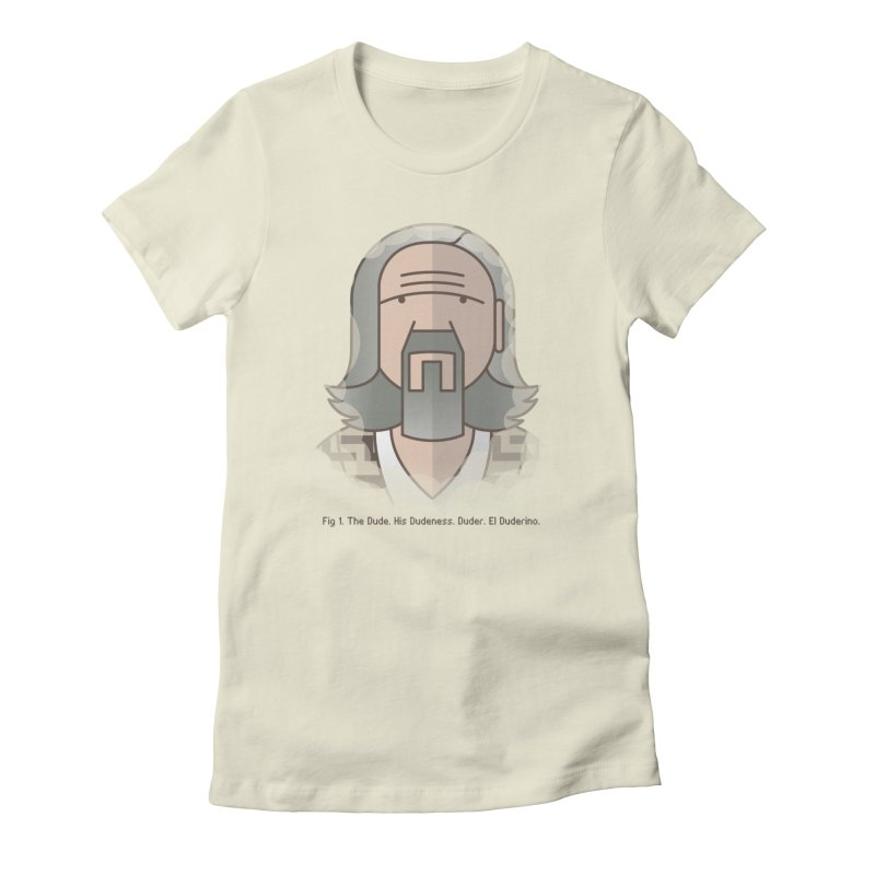 Sometimes There's A Man… Women's Fitted T-Shirt by Quick Brown Fox