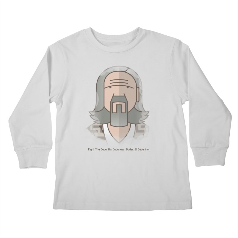 Sometimes There's A Man… Kids Longsleeve T-Shirt by Quick Brown Fox
