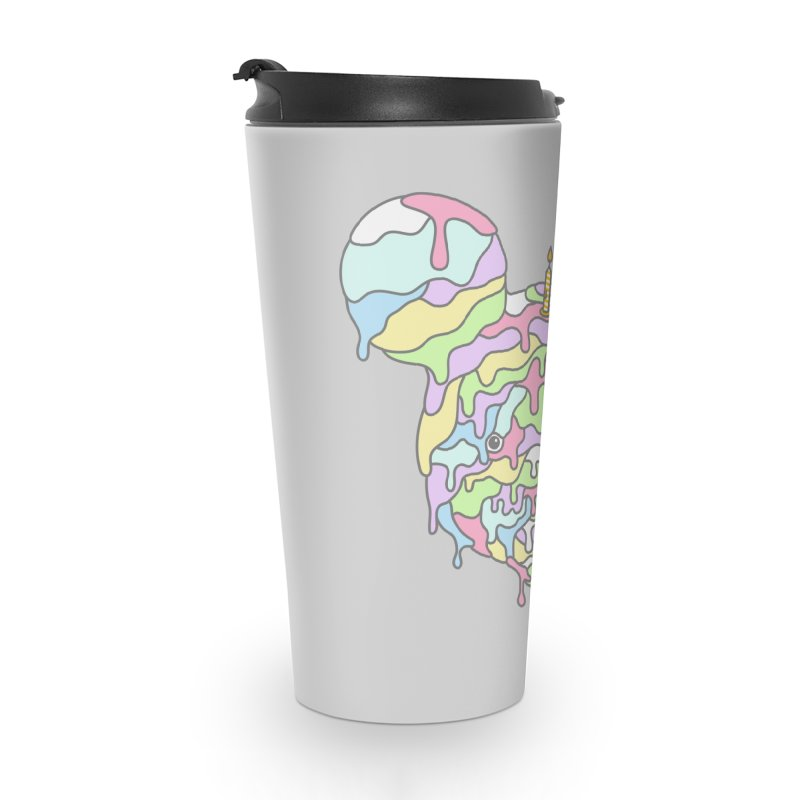 Happy Birthday World! Accessories Travel Mug by Quick Brown Fox