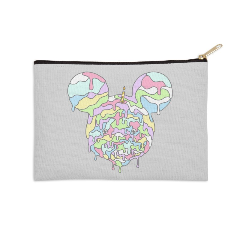 Happy Birthday World! Accessories Zip Pouch by Quick Brown Fox
