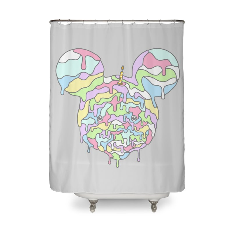 Happy Birthday World! Home Shower Curtain by Quick Brown Fox