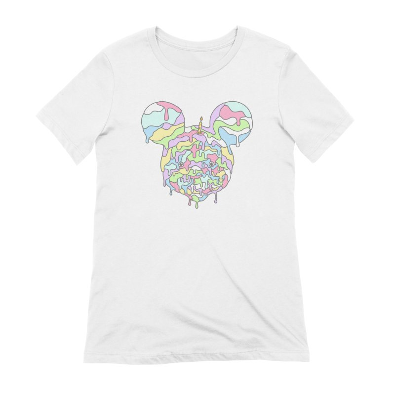 Happy Birthday World! Women's T-Shirt by Quick Brown Fox