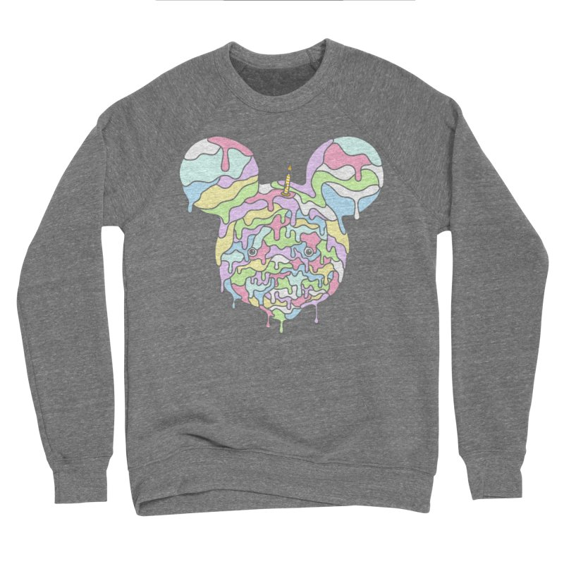 Happy Birthday World! Men's Sweatshirt by Quick Brown Fox