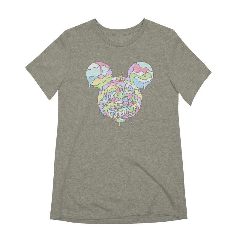 Happy Birthday World! Women's Extra Soft T-Shirt by Quick Brown Fox