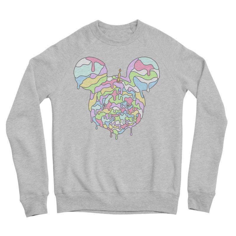 Happy Birthday World! Men's Sponge Fleece Sweatshirt by Quick Brown Fox