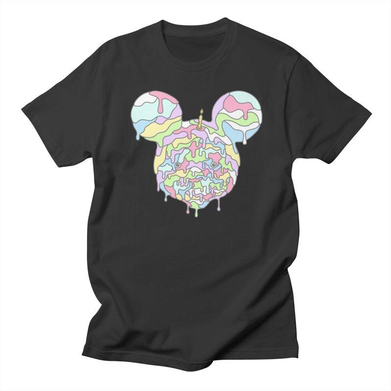 Happy Birthday World! Men's Regular T-Shirt by Quick Brown Fox