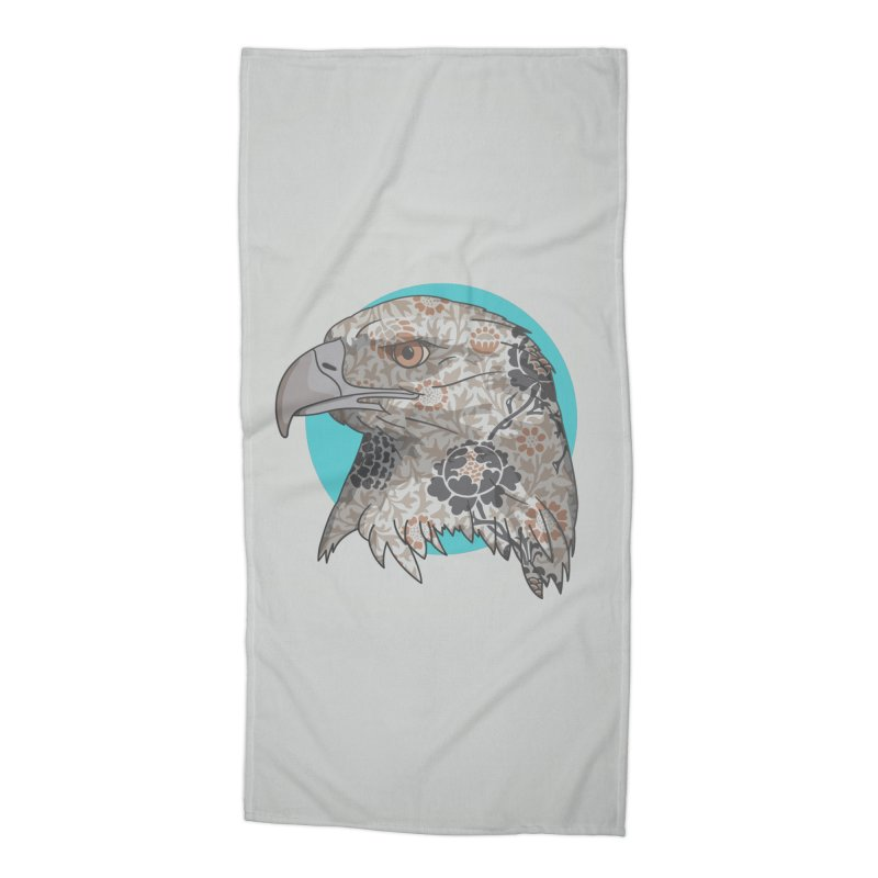 Flora & Fauna Accessories Beach Towel by Quick Brown Fox