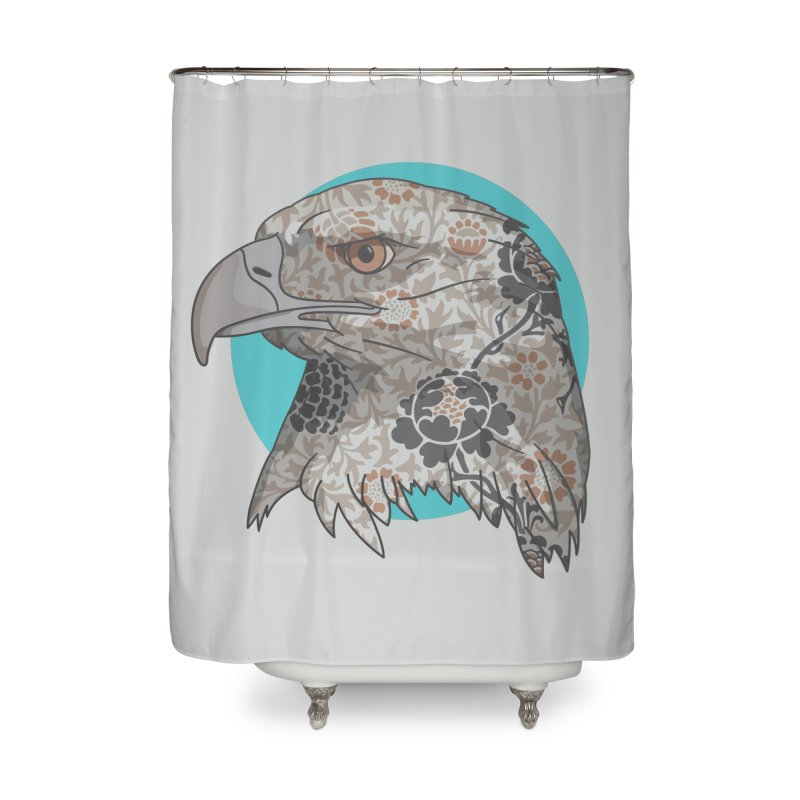 Flora & Fauna Home Shower Curtain by Quick Brown Fox