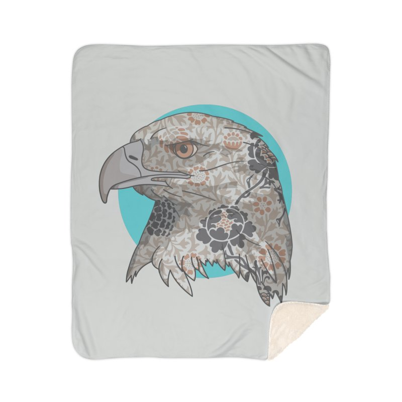 Flora & Fauna Home Sherpa Blanket Blanket by Quick Brown Fox