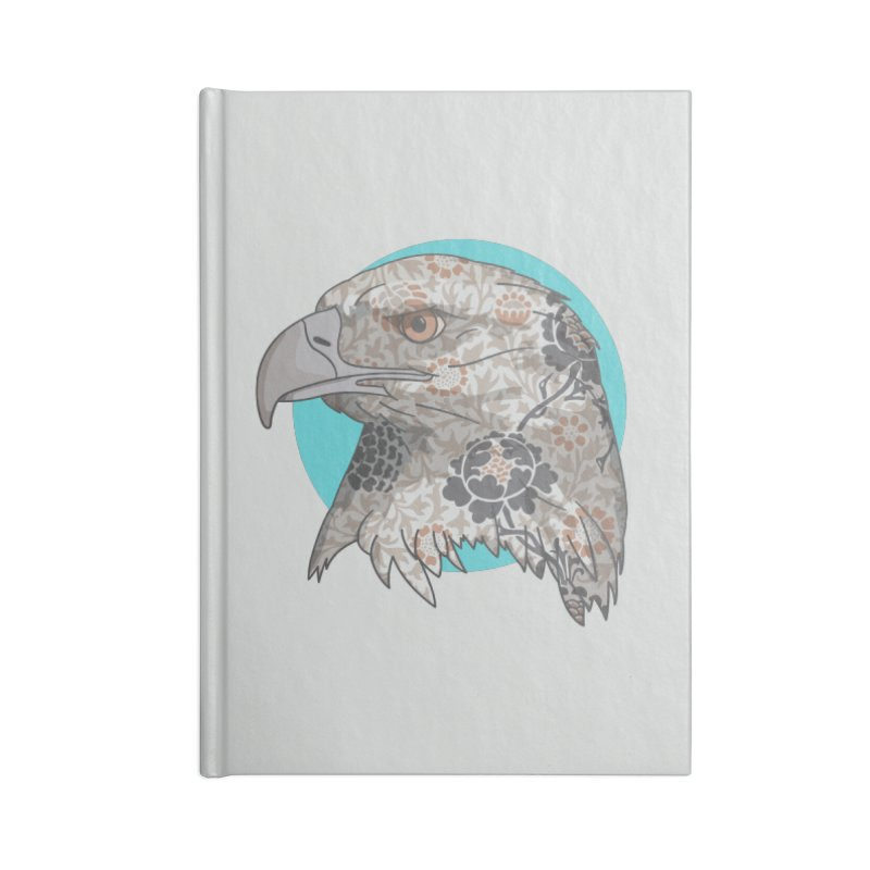 Flora & Fauna Accessories Blank Journal Notebook by Quick Brown Fox