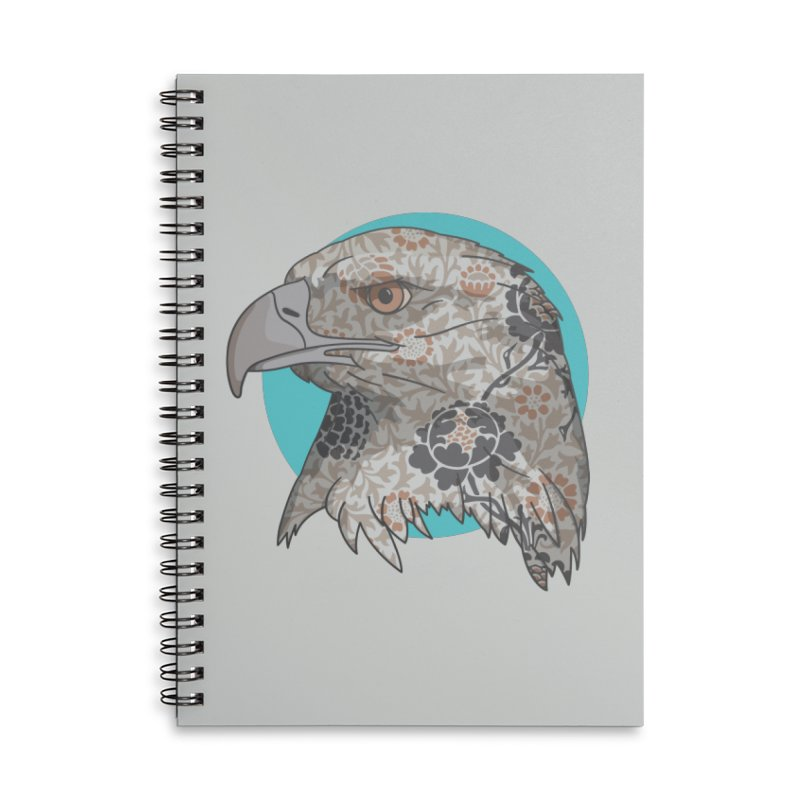 Flora & Fauna Accessories Lined Spiral Notebook by Quick Brown Fox