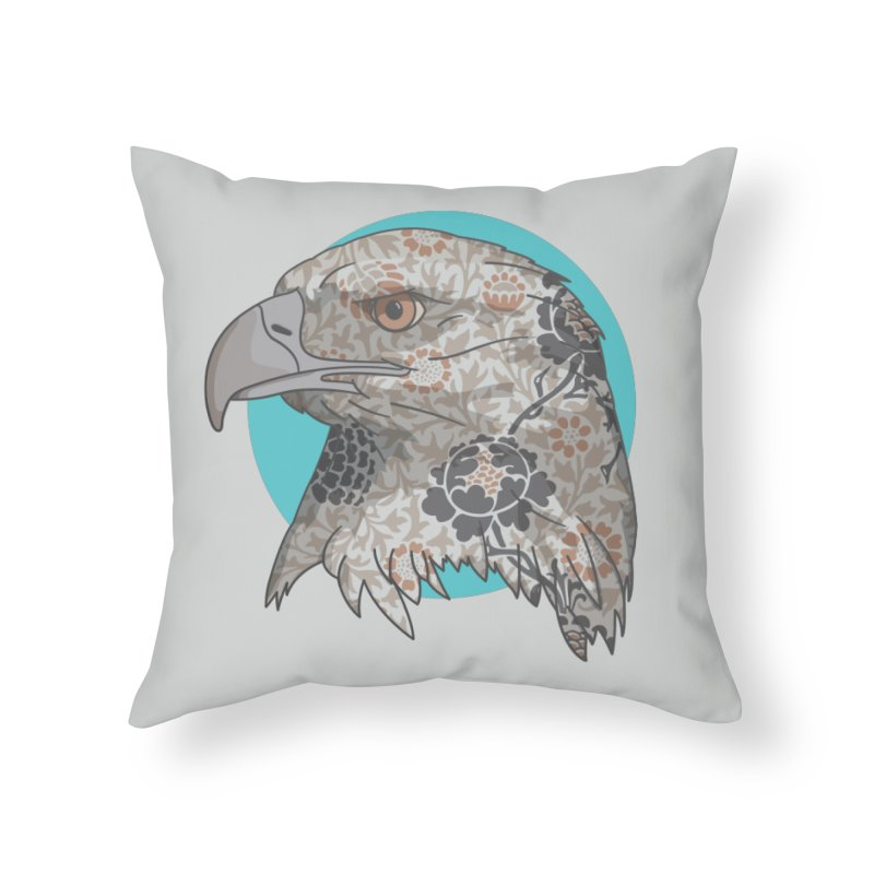Flora & Fauna Home Throw Pillow by Quick Brown Fox