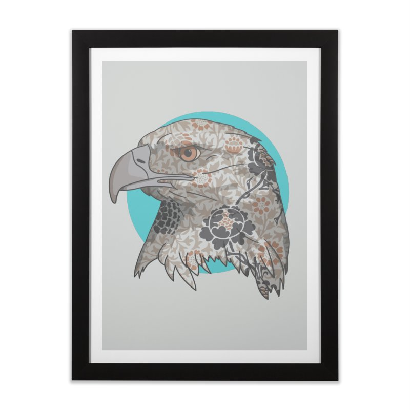 Flora & Fauna Home Framed Fine Art Print by Quick Brown Fox