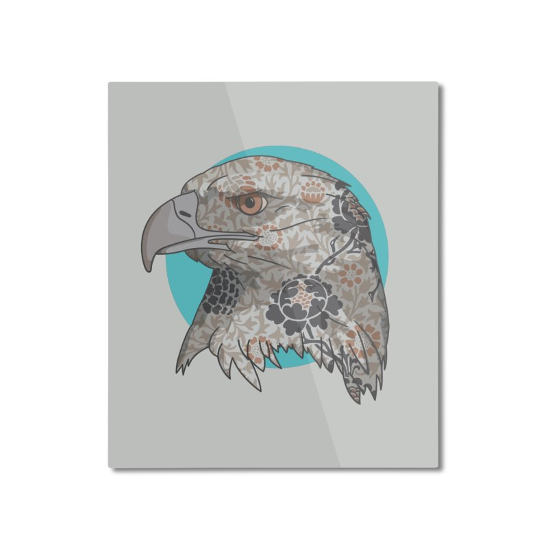 Flora & Fauna Home Mounted Aluminum Print by Quick Brown Fox