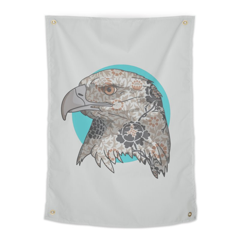 Flora & Fauna Home Tapestry by Quick Brown Fox