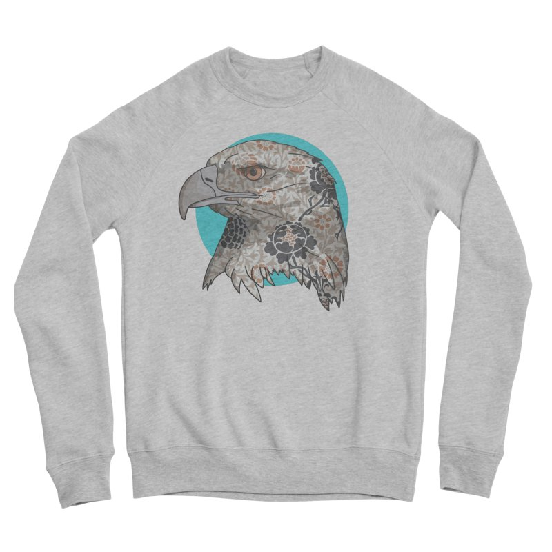 Flora & Fauna Men's Sponge Fleece Sweatshirt by Quick Brown Fox