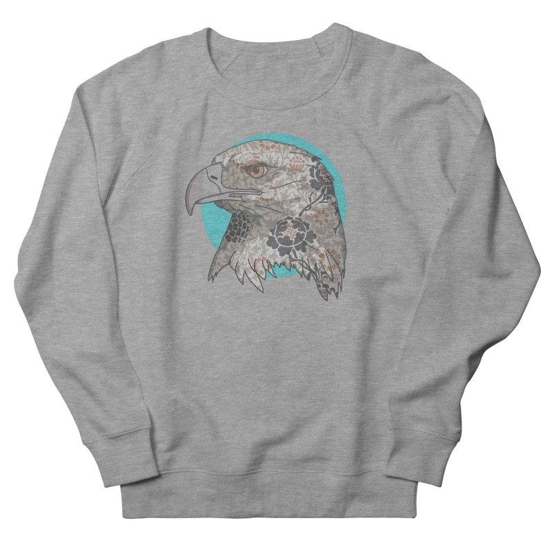 Flora & Fauna Men's French Terry Sweatshirt by Quick Brown Fox