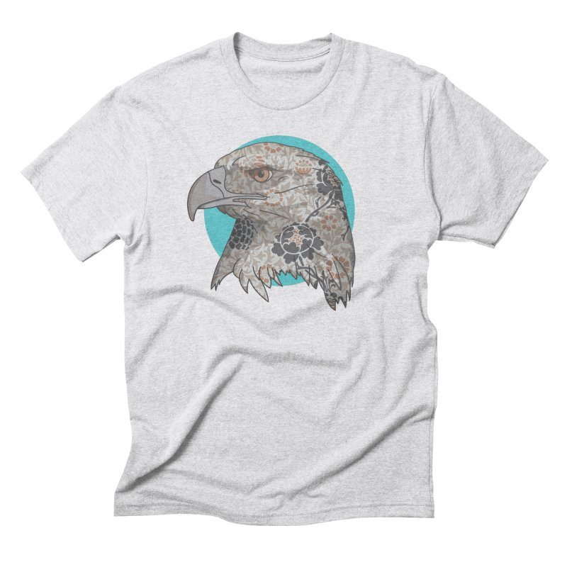 Flora & Fauna Men's Triblend T-Shirt by Quick Brown Fox
