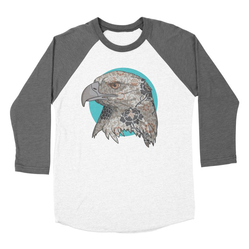 Flora & Fauna Men's Baseball Triblend Longsleeve T-Shirt by Quick Brown Fox