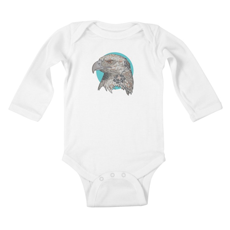 Flora & Fauna Kids Baby Longsleeve Bodysuit by Quick Brown Fox