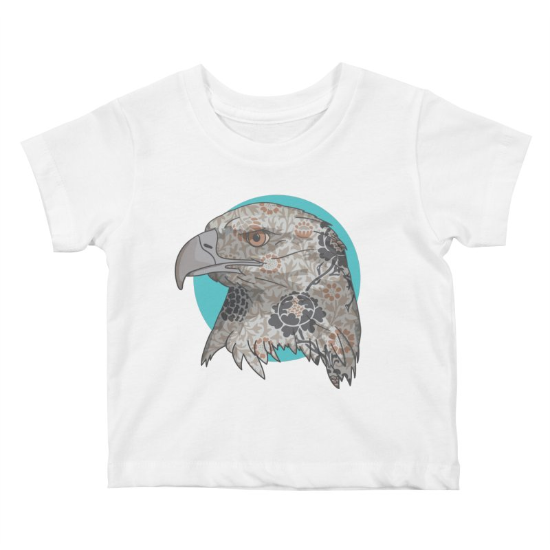 Flora & Fauna Kids Baby T-Shirt by Quick Brown Fox