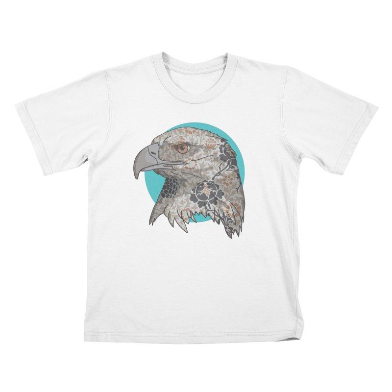 Flora & Fauna Kids T-Shirt by Quick Brown Fox