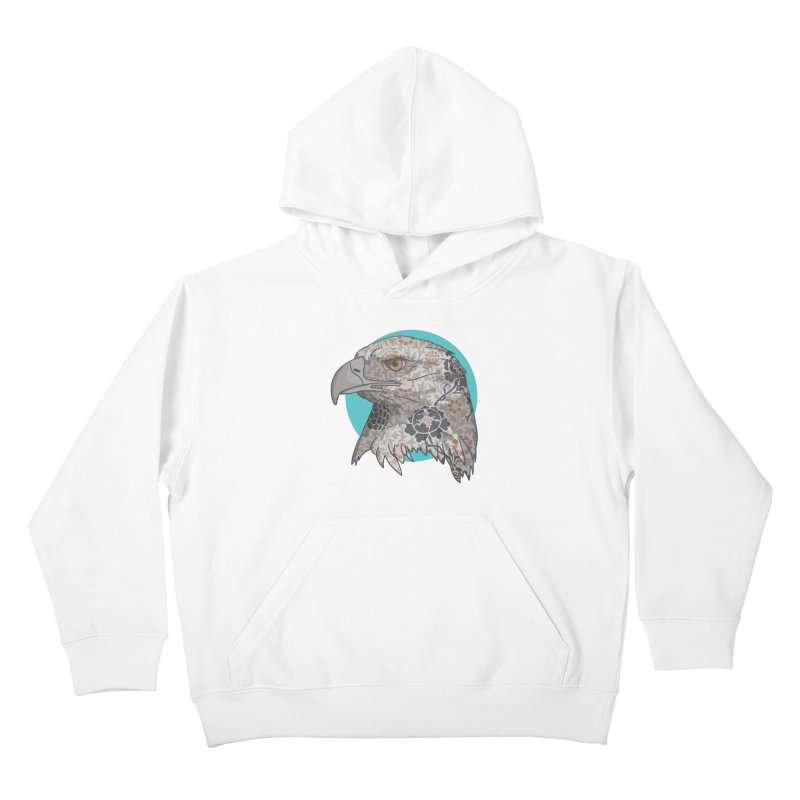 Flora & Fauna Kids Pullover Hoody by Quick Brown Fox