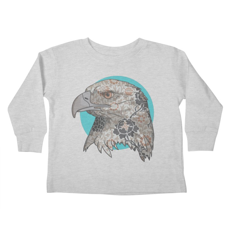 Flora & Fauna Kids Toddler Longsleeve T-Shirt by Quick Brown Fox