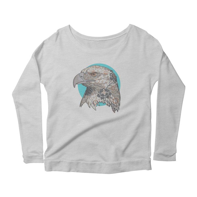Flora & Fauna Women's Scoop Neck Longsleeve T-Shirt by Quick Brown Fox