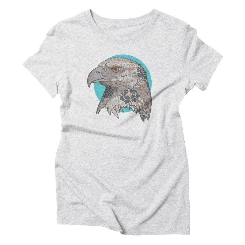 Flora & Fauna Women's Triblend T-Shirt by Quick Brown Fox