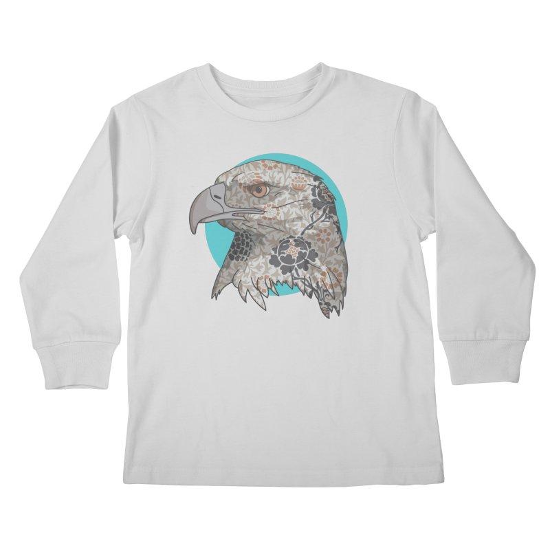 Flora & Fauna Kids Longsleeve T-Shirt by Quick Brown Fox