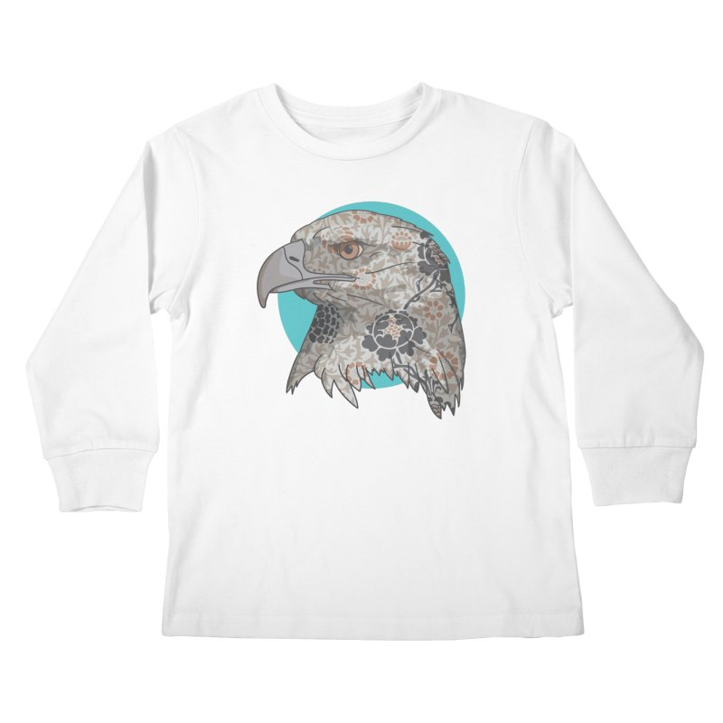 Flora & Fauna Kids Longsleeve T-Shirt by Quick Brown Fox