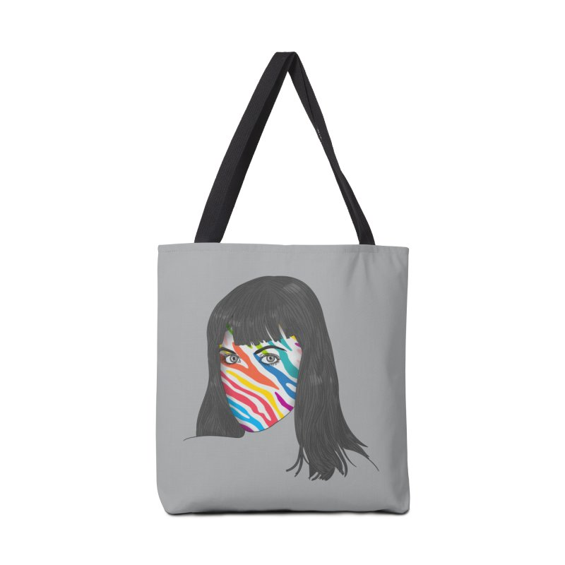 Maybe She's Born With It Accessories Tote Bag Bag by Quick Brown Fox