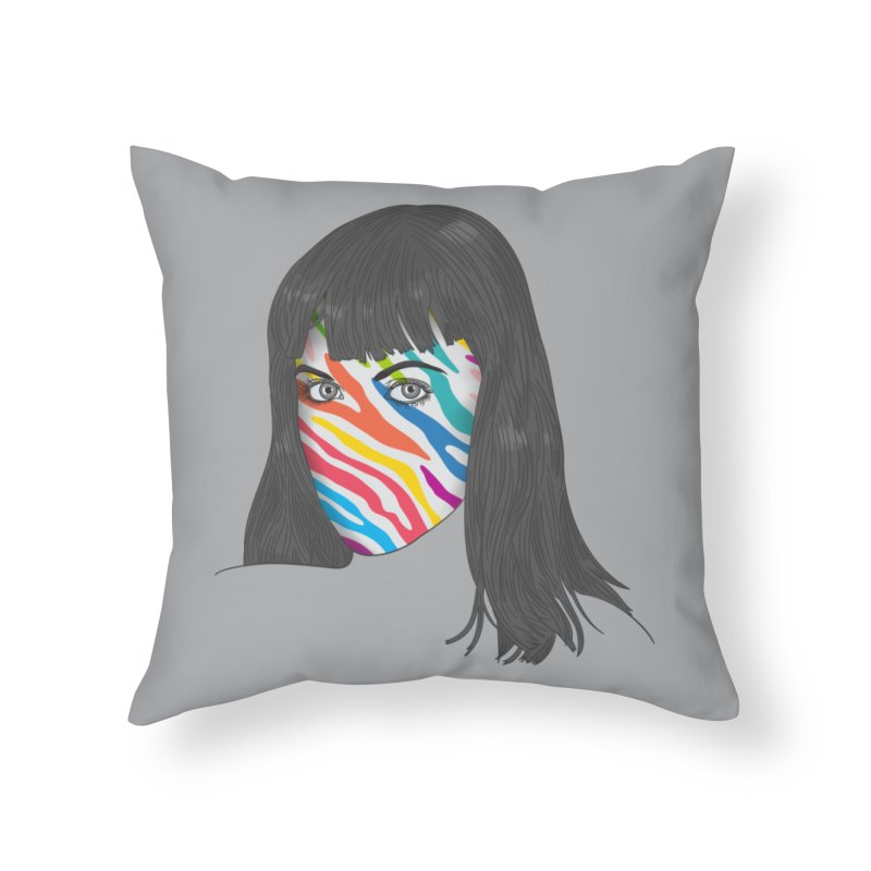 Maybe She's Born With It Home Throw Pillow by Quick Brown Fox