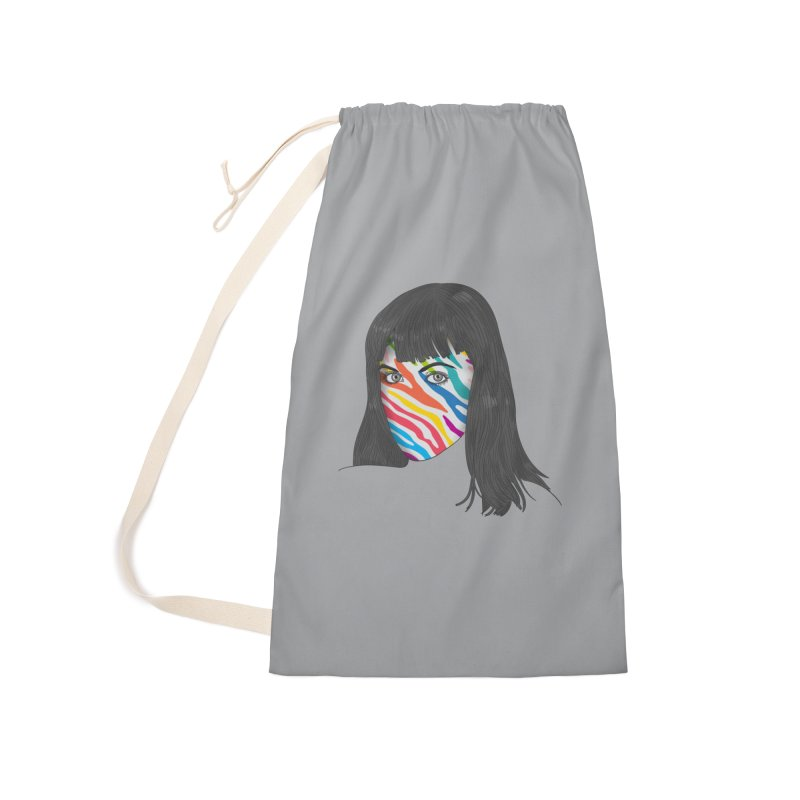 Maybe She's Born With It Accessories Laundry Bag Bag by Quick Brown Fox