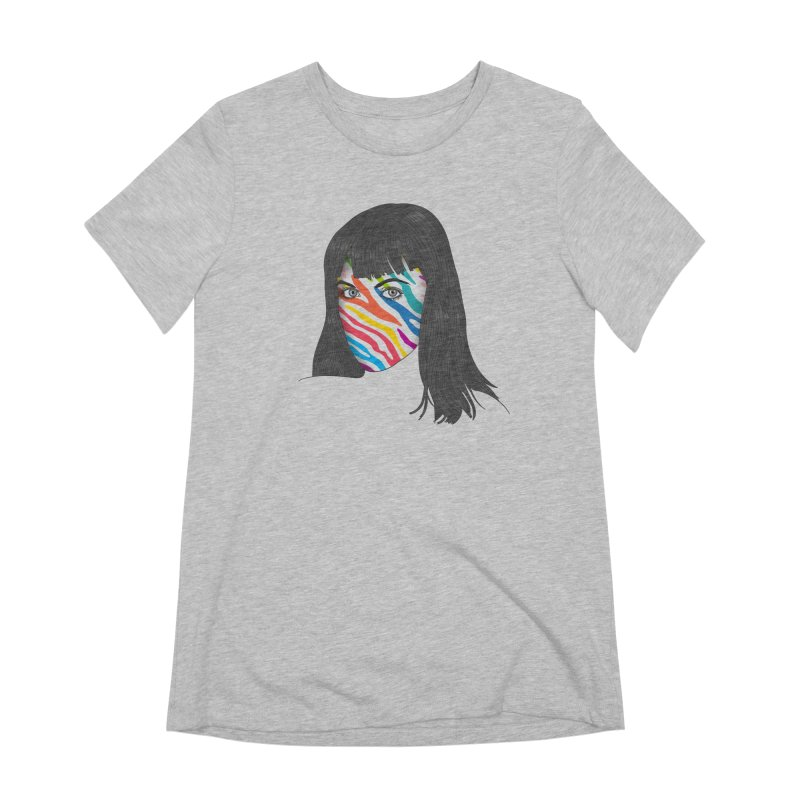 Maybe She's Born With It Women's Extra Soft T-Shirt by Quick Brown Fox