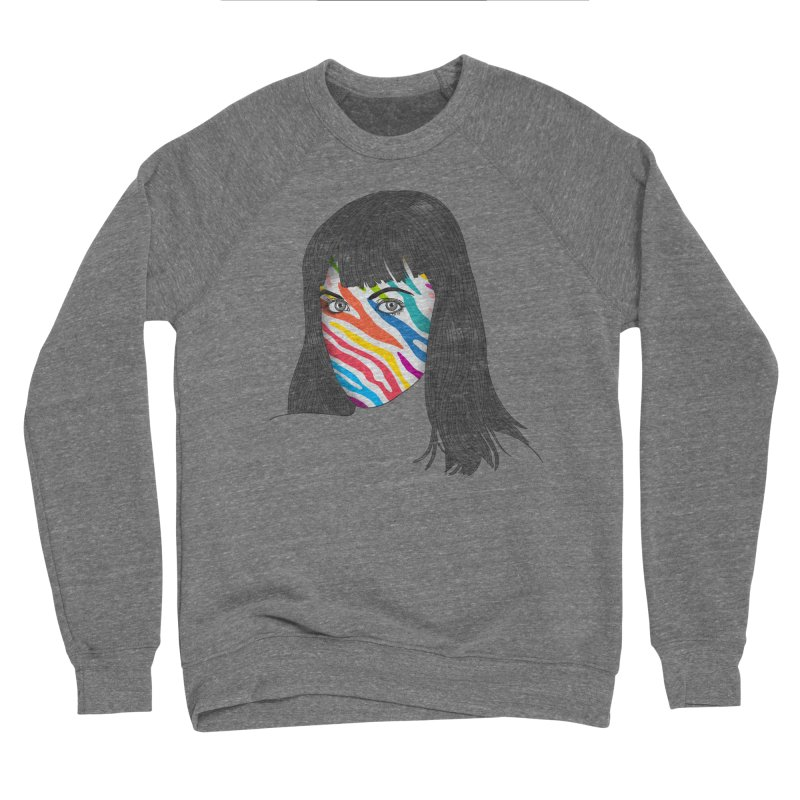 Maybe She's Born With It Women's Sponge Fleece Sweatshirt by Quick Brown Fox