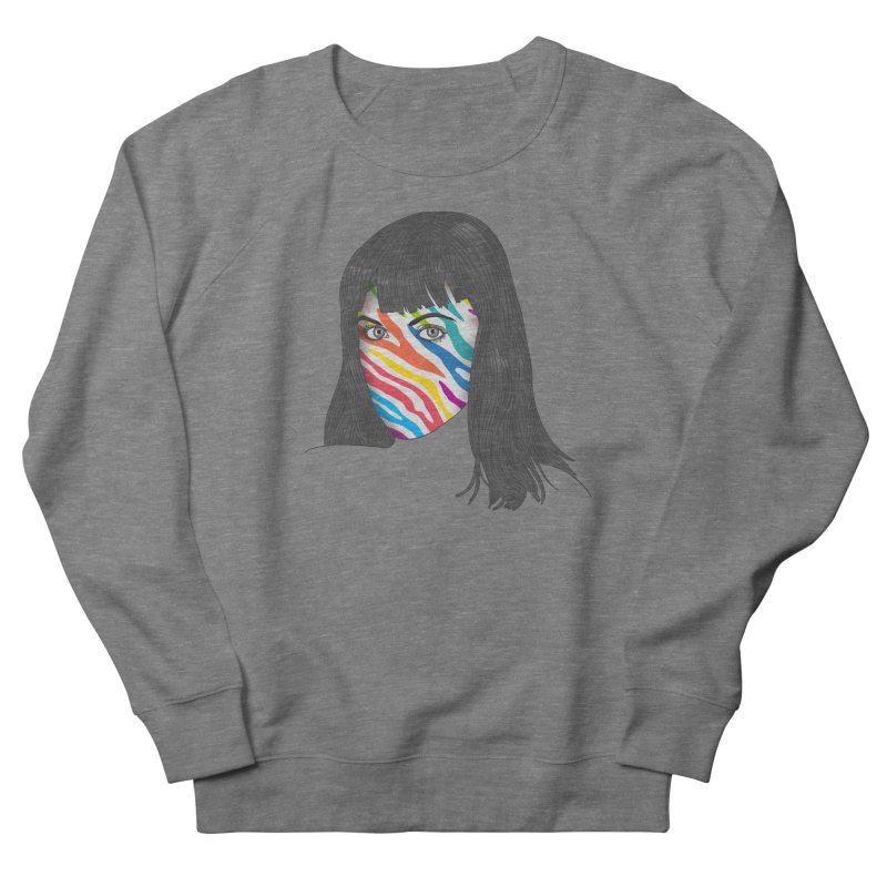 Maybe She's Born With It Women's French Terry Sweatshirt by Quick Brown Fox