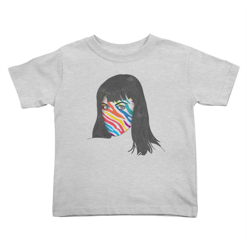 Maybe She's Born With It Kids Toddler T-Shirt by Quick Brown Fox