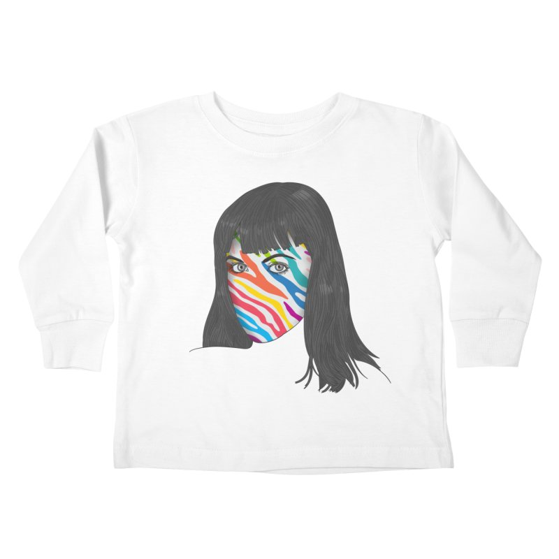 Maybe She's Born With It Kids Toddler Longsleeve T-Shirt by Quick Brown Fox