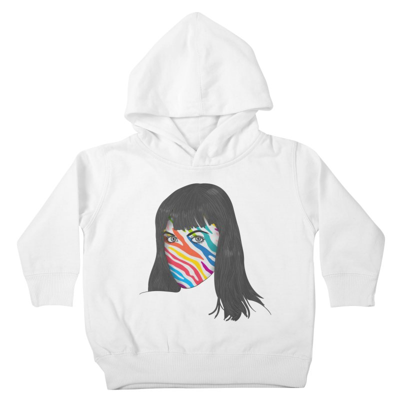 Maybe She's Born With It Kids Toddler Pullover Hoody by Quick Brown Fox