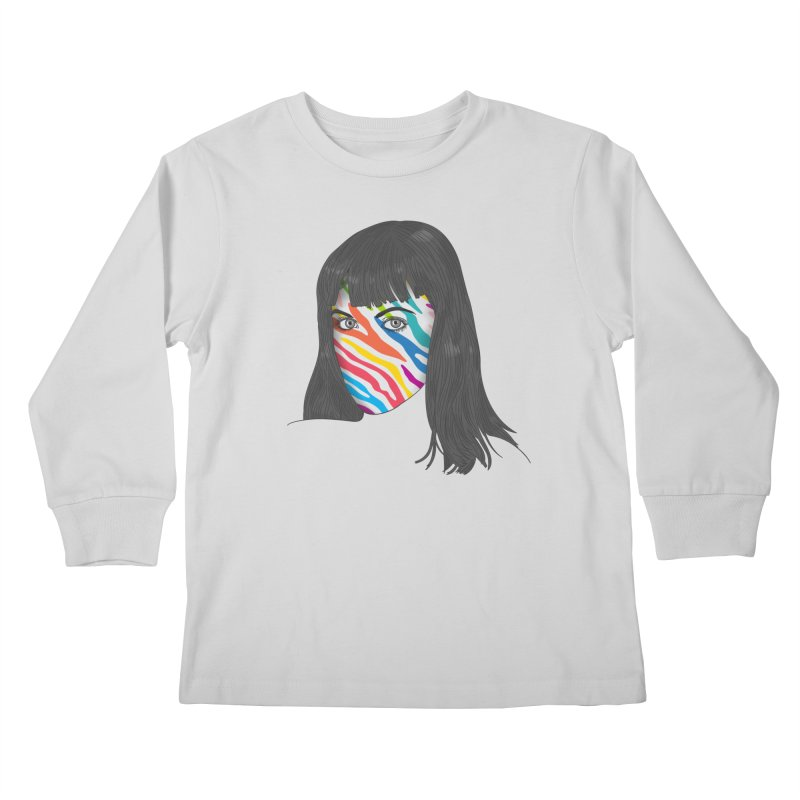 Maybe She's Born With It Kids Longsleeve T-Shirt by Quick Brown Fox