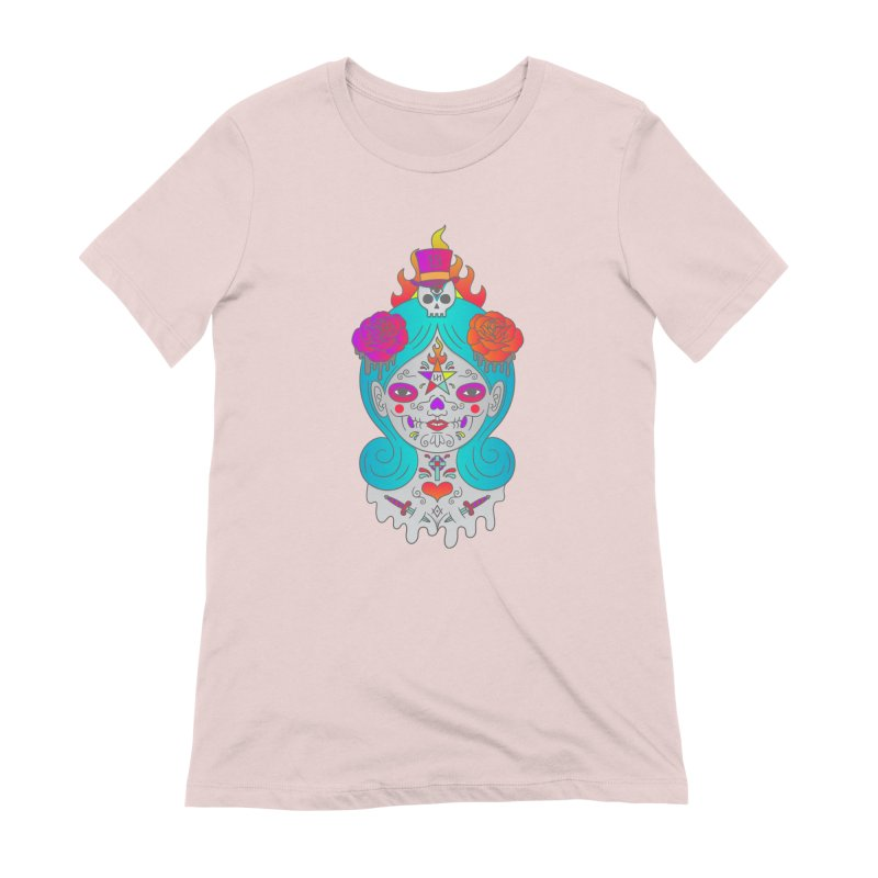 Voodoo Doll Women's Extra Soft T-Shirt by Quick Brown Fox