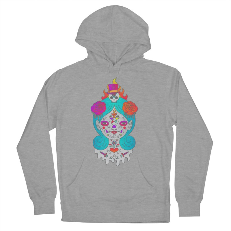 Voodoo Doll Women's Pullover Hoody by Quick Brown Fox