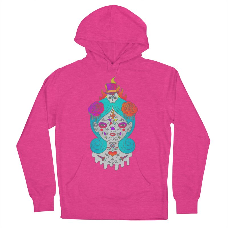Voodoo Doll Women's French Terry Pullover Hoody by Quick Brown Fox